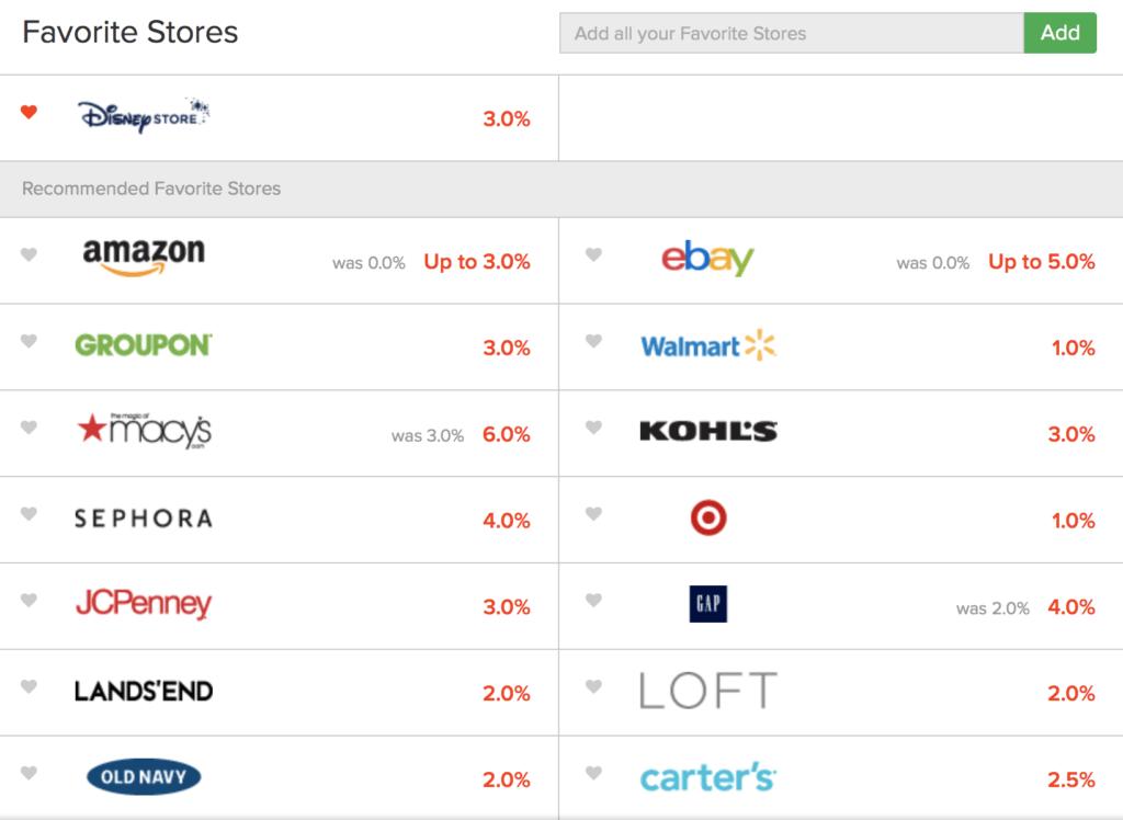 Ebates money saving online shopping