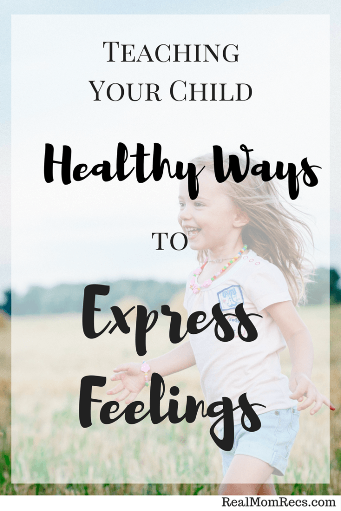 teach kids to express feelings