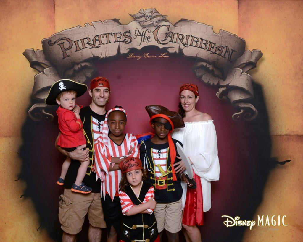 Dress up for Pirate night on Disney Cruise line
