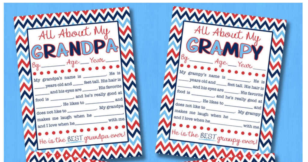 Father's Day cards for grandpa