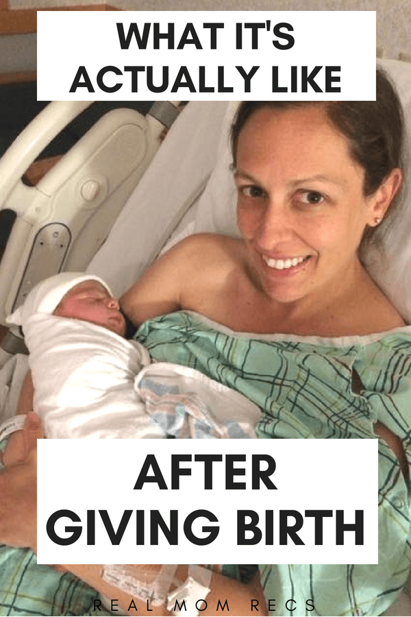 What It's Actually Like After Giving Birth