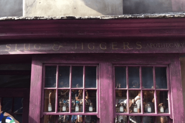 visiting the Wizarding World of Harry Potter