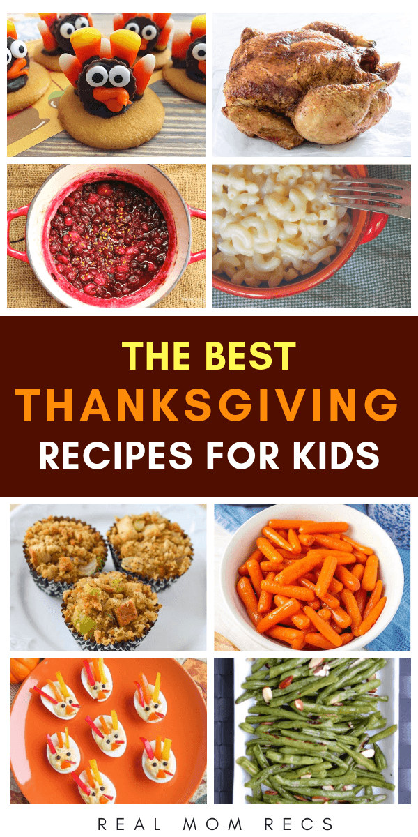 The Best Thanksgiving Recipes For Kids