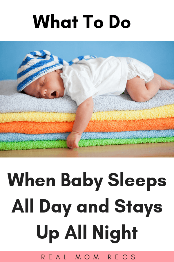 baby has days and nights mixed up