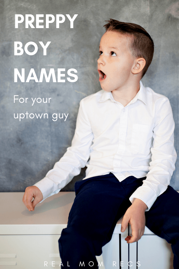 Preppy boy names