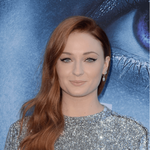 Sansa (played by Sophie Turner)