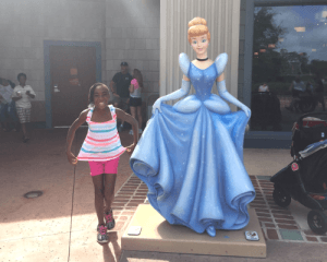 Disney World Princess trip