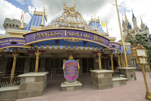 Princess fairytale hall