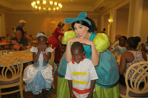 Meeting the Stepsisters at 1900 Park Fare