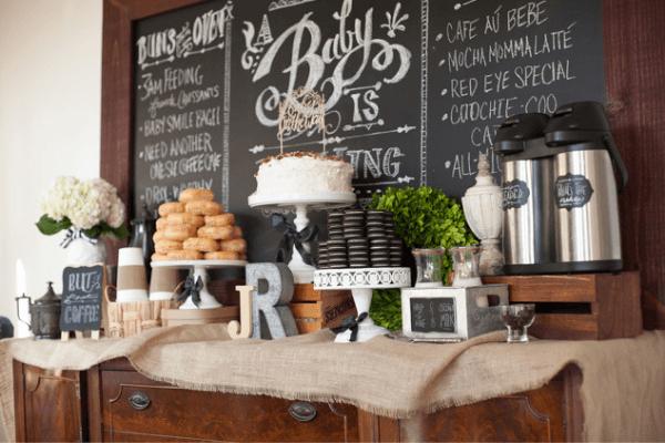 coffee theme baby shower