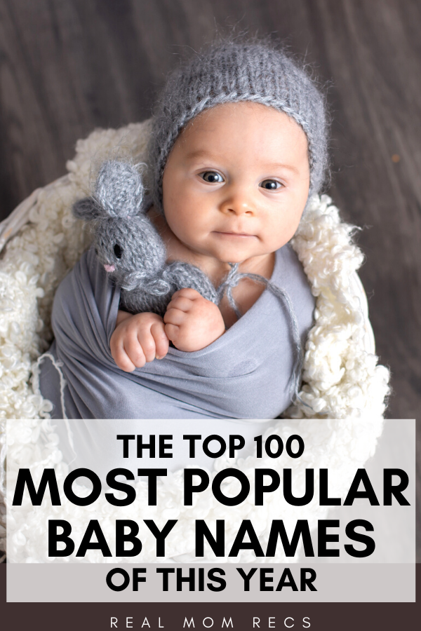 Most popular baby names of this year